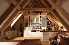 attic office design | Cool Attic Home Office Design Ideas | Shelterness