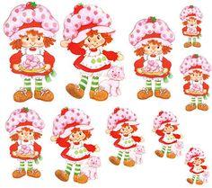 Keroppi, Moranguinho e Hello Kitty para Decoupage | Decoupage.net.br
