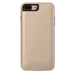 External 2600-7500mAh Power bank Pack backup battery Charger Case For iPhone 7 7Plus with tempered glass film & USB date line