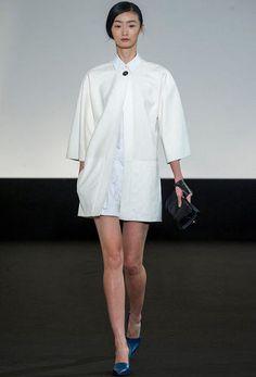 Hermès , AD : Christophe Lemaire, Model : Lili Ji (Elite), Look #27
