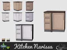 BuffSumm's Kitchen Narissa Stove Counter Right Side