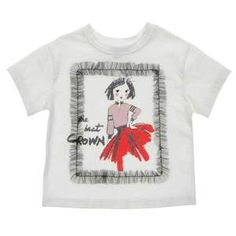 Shop our #girls' #white #cotton #shirt to give a #casual #look to your baby girl with us! Its #soft, #cotton-#blend construction keeps her #cool throughout her day. Girls White Shirt, Cute Sketches, Faded Jeans, Made Clothing, Reasons To Smile, Slip On Sneakers, Half Sleeves, White Cotton, Casual Looks