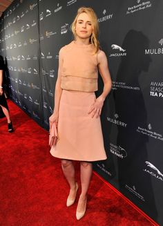 Brit Marling wearing Mulberry Spring 2014 – BAFTA Los Angeles Award Season Tea Party #2014