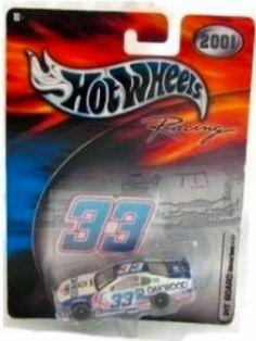 Hot Wheels Racing 2001 Nascar Oakwood   33 Joe Nemechek   Monte Carlo