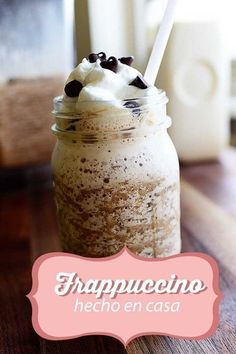 Frappuccino con leche condensada: