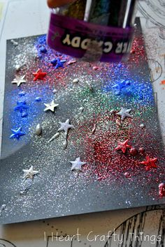 I HEART CRAFTY THINGS: Fireworks {Toddler-Style}