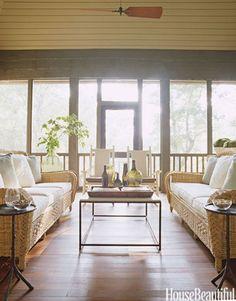 Gorgeous Screen Porch Decorating Ideas | Atlanta Curb Appeal Serving East Cobb, Marietta and Sandy Springs, Ga.