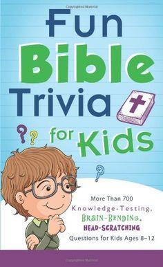 Bible Lessons for Kids: Fun Bible Trivia   Church   Bible lessons