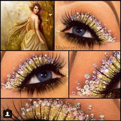 .@MakeUp By Anna | Sooo beautiful!! I just found this look by @makeupbycari under my hash tag #m... | Webstagram