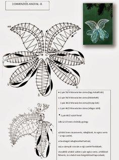Archiv alb Irish Crochet Patterns, Bobbin Lace Patterns, Lace Flowers, Crochet Flowers, Romanian Lace, Bobbin Lacemaking, Lace Heart, Lace Jewelry, Needle Lace