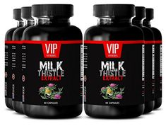 Herbal cleanse MILK THISTLE EXTRACT Natural detox 6 Bottle 360 Capsules ** For more information, visit image link. (This is an affiliate link) Supplements For Hair Loss, Vitamins For Hair Loss, Vitamins For Skin, Natural Vitamins, Natural Supplements, Vitamins For Immune System, Vitamins For Anxiety, Shampoo For Gray Hair, Milk Thistle Extract