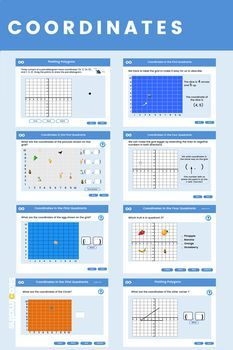 In This Lesson Learners Will Be Able To Work With Coordinates In All 4 Quadrants The Lesson Contains Ks3 Maths Worksheets Innovative Teaching Ideas Gcse Math