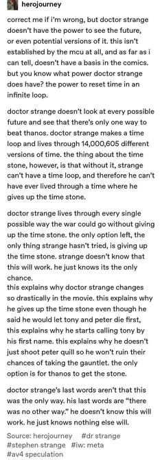 That must be the answer. There is no other explanation. I think so now . - That must be the answer. There is no other explanation. I now almost think of it as an end spoiler - Marvel Jokes, Avengers Memes, Marvel Funny, Marvel Dc Comics, Marvel Avengers, Fandoms, Dc Memes, Doctor Strange, The Villain