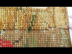How to embroider beads? The process of embroidery (for beginners) Crafts For Kids, Arts And Crafts, Embroidery For Beginners, Loom Patterns, Beaded Embroidery, Needlework, Cross Stitch, Beads, Youtube
