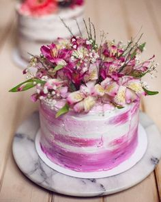 Flower cake Occasion Cakes, Layer Cakes, Special Occasion, Flowers, Desserts, Food, Tailgate Desserts, Deserts, Essen