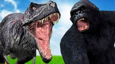 UnBelievable Dinosaurs Vs King Kong Gorillas Wild Animal Fights   Animal...