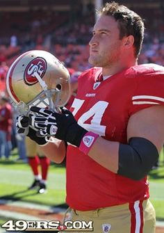 Joe Staley earned two letters in football and two in track at Rockford High School, Rockford, Michigan. He played for Central Michigan University, from 2004 to 2007. He now plays for the San Francisco 49ers   ...  #74.