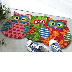 Owl Door Mat