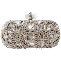 Marchesa - Opal Embroidered Clutch
