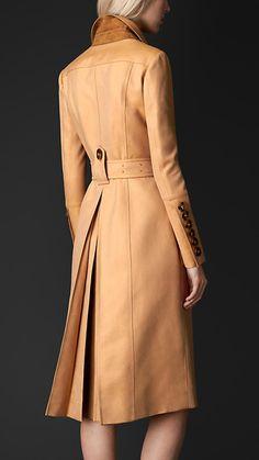 Double Gabardine Bellows Pocket Coat   Burberry Prorsum