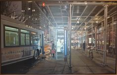 Artist Richard Estes biography, exhibitions, art for sale, latest news and work. Buy Richard Estes original artwork and paintings at Marlborough Gallery. Illinois, Upper West Side, City Sketch, Hyper Realistic Paintings, Best Portraits, Spanish Artists, Photorealism, First Art, Contemporary Artwork