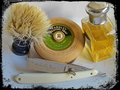Shaving with a Soap that you just cannot buy anymore.. should i save it or shave with it, you decide...