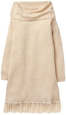 Crazy 8 Fringe Sweater Dress