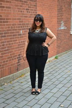 plus size outfit idea from gabi fresh