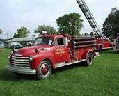 Chevrolet - Old Fire Trucks -