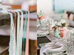 Coral and Mint Beach Wedding - Beach Wedding Tips