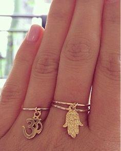 dangle rings
