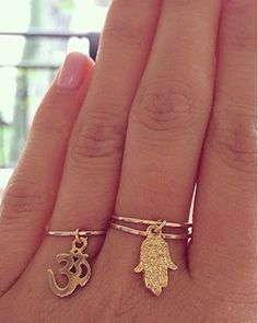 dangle rings