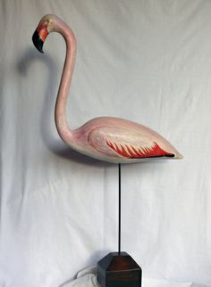 Futurism Art, Wood Bird, Welding Art, Pink Flamingos, Decoration, Wood Carving, Sculpture Art, Painting & Drawing, Amazing Art