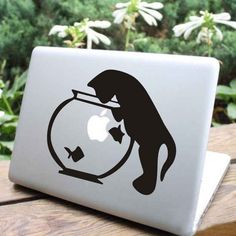 More like a CATBook Pro. | 31 Cool Things To Do With The Apple Logo On Your Mac
