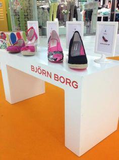 Björn Borg Footwearin naisten kevään malliston uutuudet mukana Ihana Olo! kiertueella. #somena