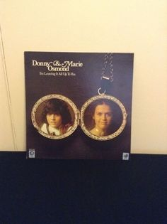 Donny & Marie Osmond Used Vinyl I'm Leaving It All Up To You Record Music Singer
