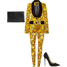 Marc Jacobs Resort 2015 by laviedefashion on Polyvore featuring Marc Jacobs, Jimmy Choo and Yves Saint Laurent