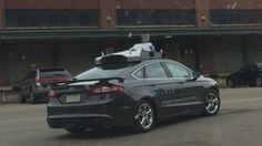 Exclusive: Here's your first look at Uber's test car (and why you'll see it around Pittsburgh) (Justine Coyne, Pittsburgh Business Times, 21 May 2015). Shown: Uber's test vehicle driving in the Strip District on May 13, 2015.