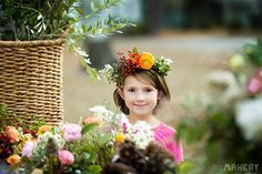 4 Easy Steps to a Colorful Flower Girl Halo | Camp Makery