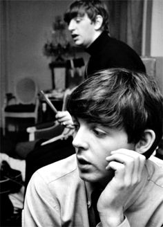 Richard Starkey and Paul McCartney
