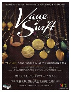 Get ready. In one month I will be part of a vibrant group show. I can't wait! Handcrafted Jewelry, Jewelry Crafts, Contemporary Art, Vibrant, Group, Handmade Chain Jewelry, Handmade Jewelry, Handmade Jewellery, Craft Jewelry