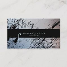 323 Best Musician Business Cards Images In 2019