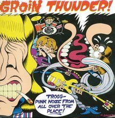 Peter Bagge's Groin Thunder cover