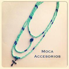 Collarsito Cruz-Rosa #hechoamano #design #trend #colombia #madeincolombia #accesoriosdivinos #cruz #cross #mocaaccesorioscolombia #compracolombiano #yocomprocolombiano