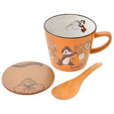 Chip 'N Dale Soup Mug Lunch Set Disney Home, Disney Land, Coffee Cups, Tea Cups, Rescue Rangers, Disney Cups, Chip And Dale, Soup Mugs, Cute Mugs