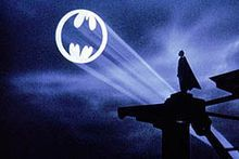 Bat Signal...love the TV show Batman I used to watch with my Dad