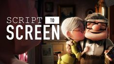 From the script of a film to its final scene, adventure is out there. See how the opening montage from Disney Disney Pixar Up, Disney Movies, The Script, Married Life, Adventure Is Out There, Storyboard, Comic Strips, Filmmaking, Scene