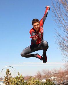 Spiderman Cosplay, Ranger, Action, Black, Instagram, Group Action, Black People