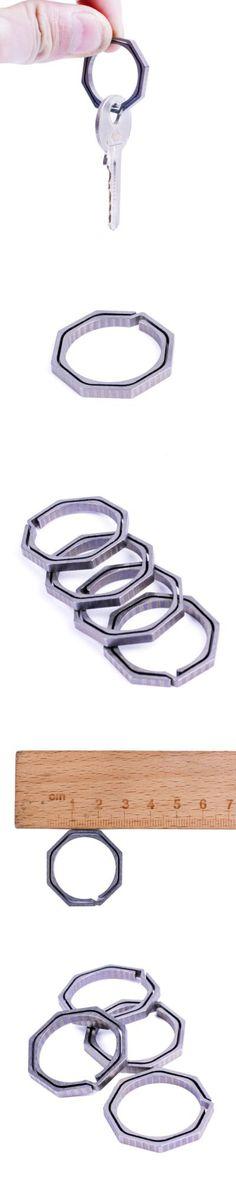 Hand Tools | Outdoor Mini EDC Octagonal Titanium Alloy Keychain