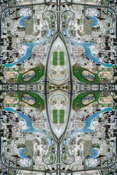 Artist turns Google Maps into Persian rugs- check this out! http://cnet.co/Xubfmc